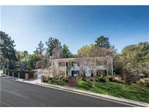 Photo of 3761 BALLINA CANYON Road, Encino, CA 91436 (MLS # SR18057530)