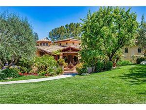 Photo of 24520 WINGFIELD Road, Hidden Hills, CA 91302 (MLS # SR18116541)