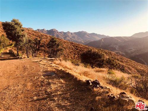 Photo of 0 PACIFIC VIEW Drive, Malibu, CA 90265 (MLS # 19524556)