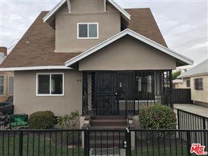 Photo of 537 West 58TH Street, Los Angeles , CA 90037 (MLS # 18320564)