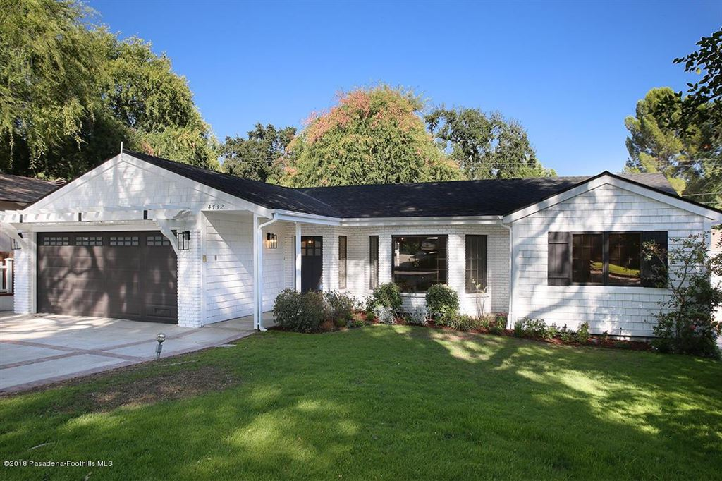 Photo for 4732 HAMPTON Road, La Canada Flintridge, CA 91011 (MLS # 818004566)