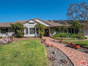 Photo of 580 LUCERO Avenue, Pacific Palisades, CA 90272 (MLS # 18335576)