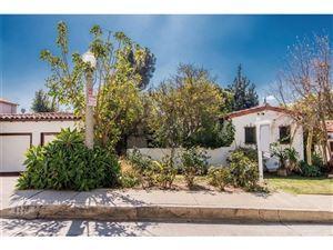 Photo of 4228 LOS NIETOS Drive, Los Feliz , CA 90027 (MLS # SR18047578)