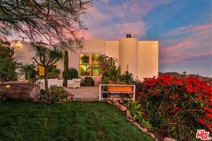 Photo of 24736 West SADDLE PEAK Road, Malibu, CA 90265 (MLS # 18405580)