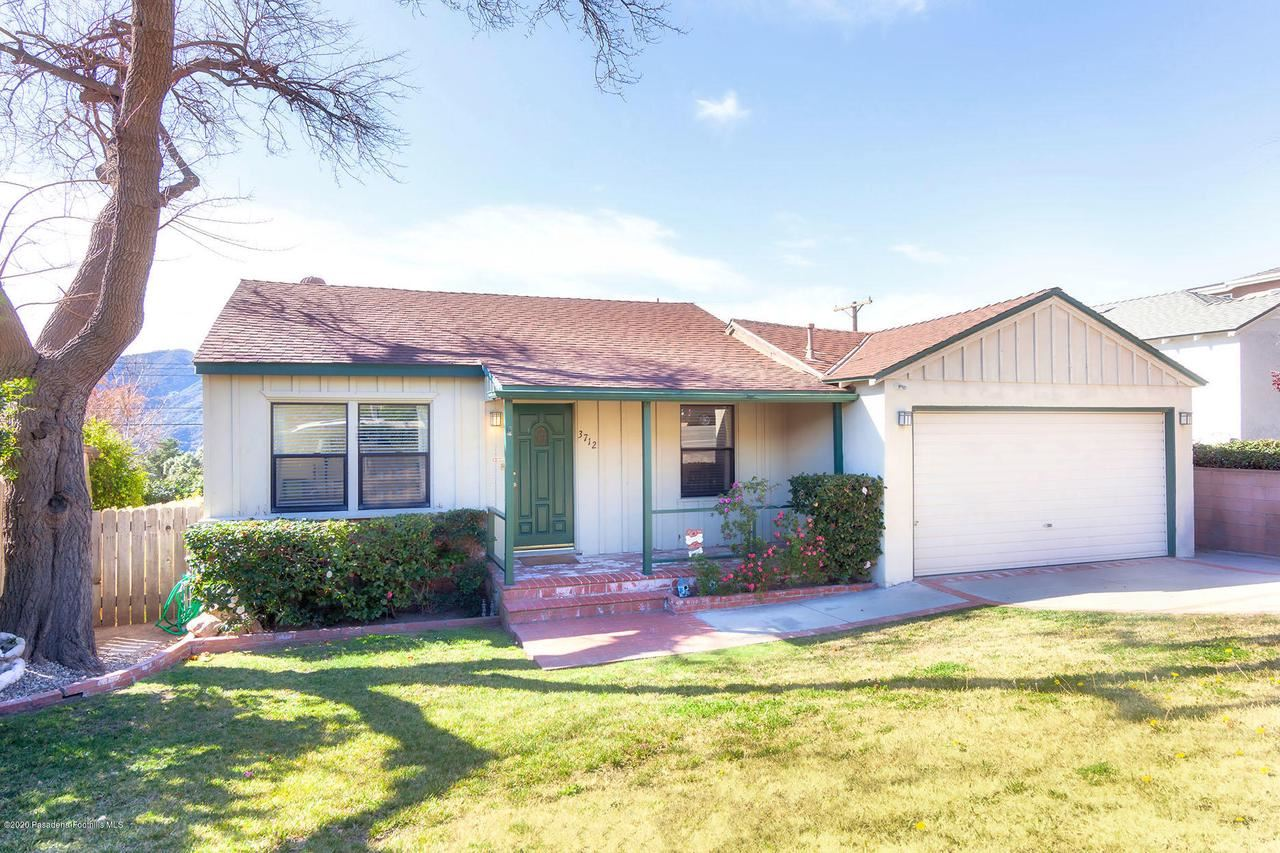 Photo of 3712 SANTA CARLOTTA Street, Glendale, CA 91214 (MLS # 820000592)