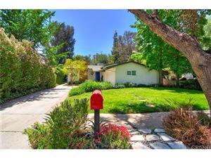 Photo of 21420 DE LA OSA Street, Woodland Hills, CA 91364 (MLS # SR18112595)