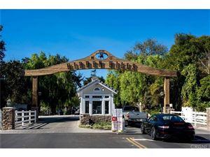 Tiny photo for 5857 FITZPATRICK Road, Hidden Hills, CA 91302 (MLS # SR18269623)