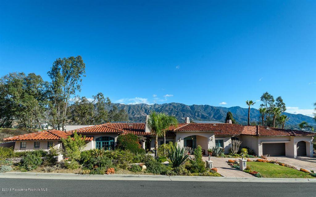 Photo for 181 NORMANDY Lane, La Canada Flintridge, CA 91011 (MLS # 818000627)