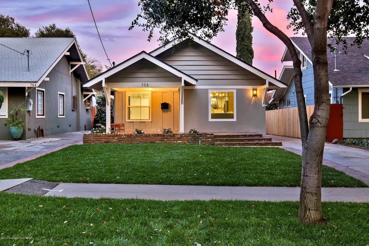 Photo of 758 North MICHIGAN Avenue, Pasadena, CA 91104 (MLS # 820000655)