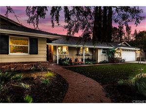 Photo of 17634 WEDDINGTON Street, Encino, CA 91316 (MLS # SR18251663)