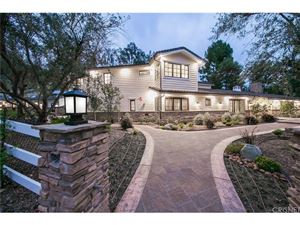 Photo of 25005 LEWIS AND CLARK Road, Hidden Hills, CA 91302 (MLS # SR18221668)