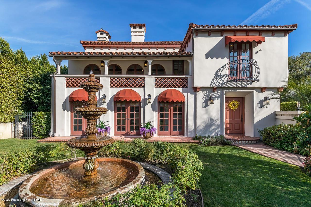 Photo of 616 South SIERRA BONITA Avenue, Pasadena, CA 91106 (MLS # 820000684)