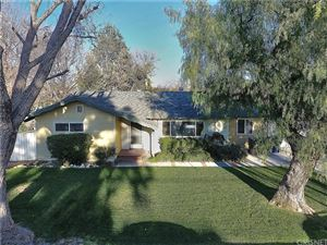 Photo of 25024 PEACHLAND Avenue, Newhall, CA 91321 (MLS # SR18063690)