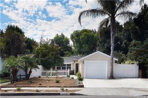 Tiny photo for 22070 VELICATA Street, Woodland Hills, CA 91364 (MLS # SR19212690)