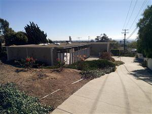 Tiny photo for 3694 FOOTHILL Road, Ventura, CA 93003 (MLS # 218000694)