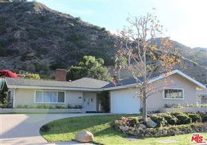 Photo of 5948 PASEO CANYON Drive, Malibu, CA 90265 (MLS # 18315704)