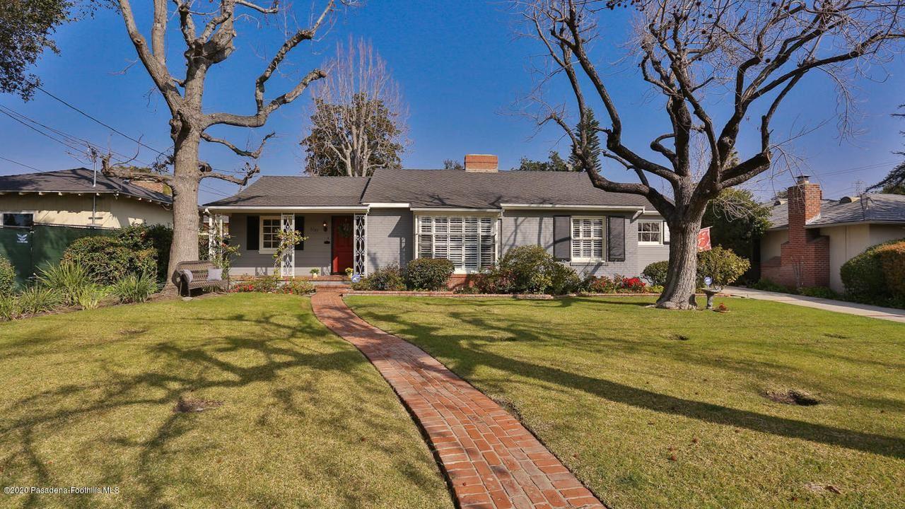 Photo of 3187 ORLANDO Road, Pasadena, CA 91107 (MLS # 820000715)