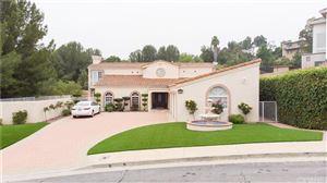 Photo of 11594 RANCHO DEL VALLE, Granada Hills, CA 91344 (MLS # SR19113719)