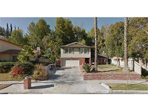 Photo of 22107 BARBACOA Drive, Saugus, CA 91350 (MLS # SR18102745)