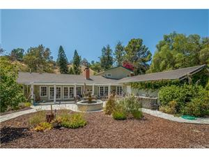 Photo of 24935 JOHN FREMONT Road, Hidden Hills, CA 91302 (MLS # SR18212753)
