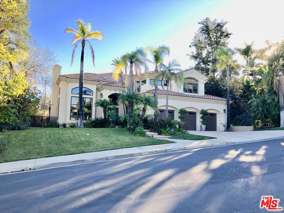 Photo for 23442 PALM Drive, Calabasas, CA 91302 (MLS # 18315770)