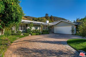 Photo of 3416 MANDEVILLE CANYON Road, Los Angeles , CA 90049 (MLS # 18401772)
