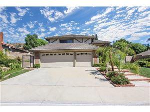 Photo of 18575 BRASILIA Drive, PORTER RANCH, CA 91326 (MLS # SR18230779)