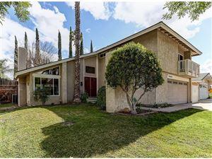 Photo of 23022 LAS MANANITAS Drive, Valencia, CA 91354 (MLS # SR18059834)