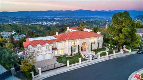 Photo of 12063 CREST Court, Beverly Hills, CA 90210 (MLS # 19516848)