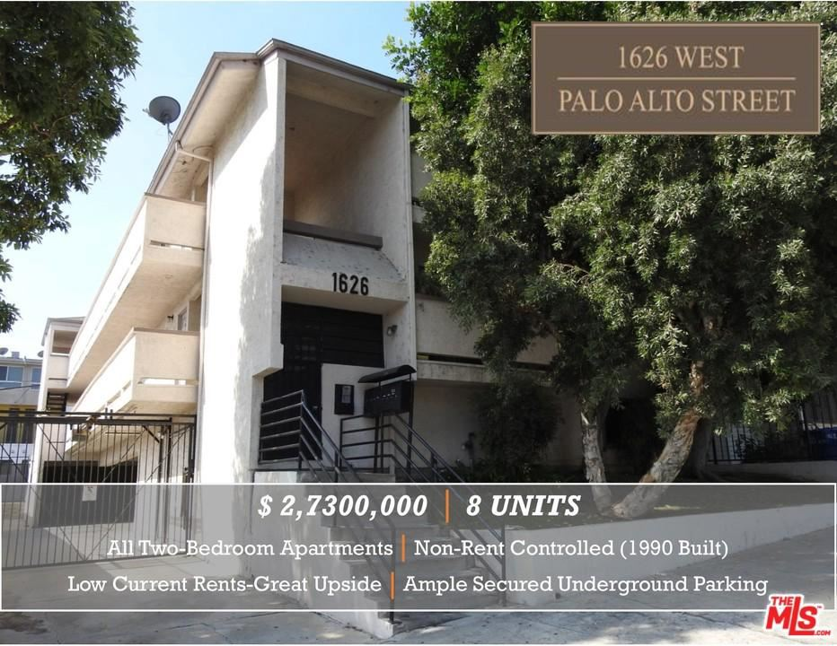 Photo for 1626 PALO ALTO Street, Los Angeles , CA 90026 (MLS # 18405850)