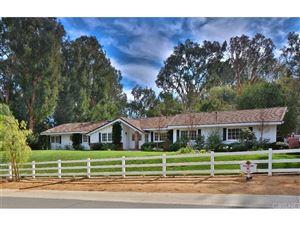Photo of 5716 JED SMITH Road, Hidden Hills, CA 91302 (MLS # SR18016885)