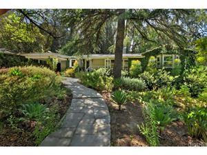 Photo of 3651 WOODHILL CANYON Road, Studio City, CA 91604 (MLS # SR18116910)