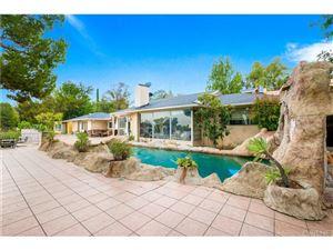 Photo of 19536 WELLS Drive, Tarzana, CA 91356 (MLS # SR18166954)