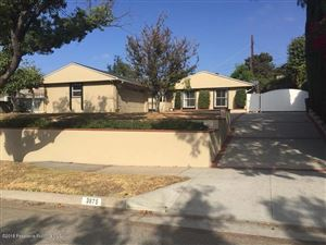 Photo of 3875 CARTWRIGHT Street, Pasadena, CA 91107 (MLS # 818004958)