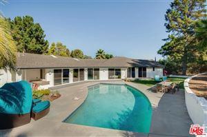 Photo of 1803 MANZANITA PARK Avenue, Malibu, CA 90265 (MLS # 19506964)