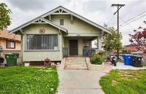 Photo of 524 South GRANDE VISTA Avenue, Los Angeles , CA 90063 (MLS # 818002981)