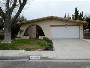 Photo of 44147 SOFT Avenue, Lancaster, CA 93536 (MLS # SR18064991)