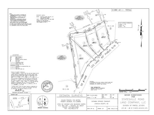 Photo of 2641 Les Lane #Lot  3, Denver, NC 28037 (MLS # 3735326)