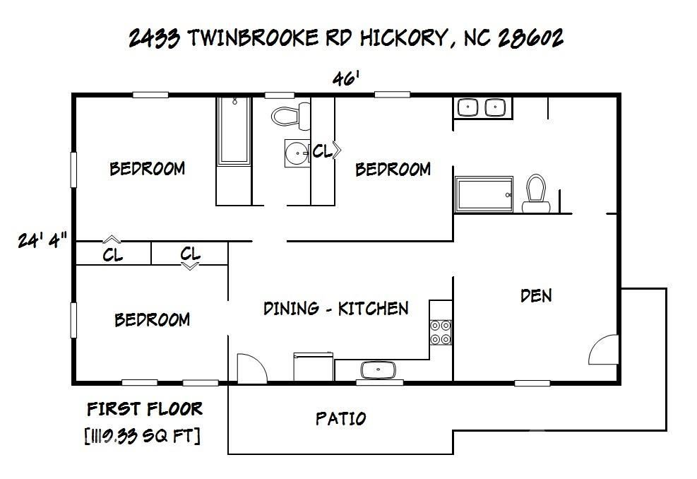 2433 Twinbrooke Road, Hickory, NC 28602-8721 - MLS#: 3778367