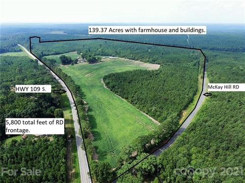 Photo of 3996 Nc Highway 109 Highway, Mount Gilead, NC 27306-9490 (MLS # 3778595)