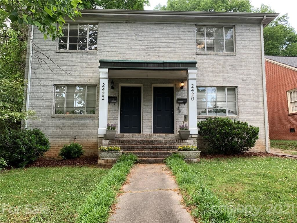 Photo for 2420 / 2422 Charlotte Drive, Charlotte, NC 28203-5720 (MLS # 3740634)