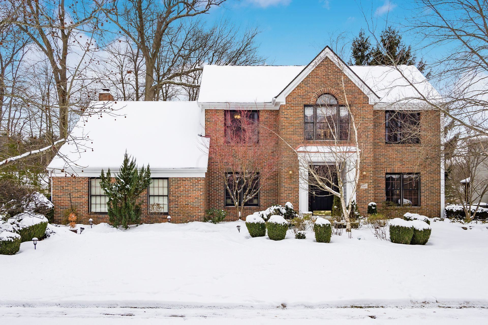 Photo of 1221 Whispering Meadow Court, New Albany, OH 43054 (MLS # 221004167)