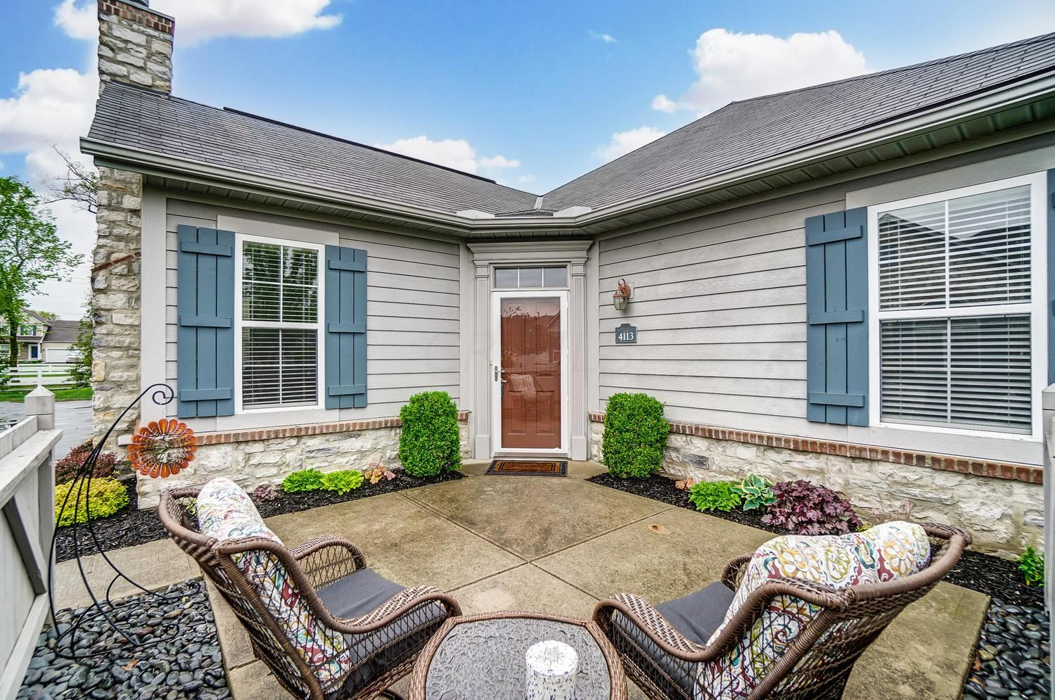 Photo of 4113 Aumbrey Court #35-411, New Albany, OH 43054 (MLS # 221014294)