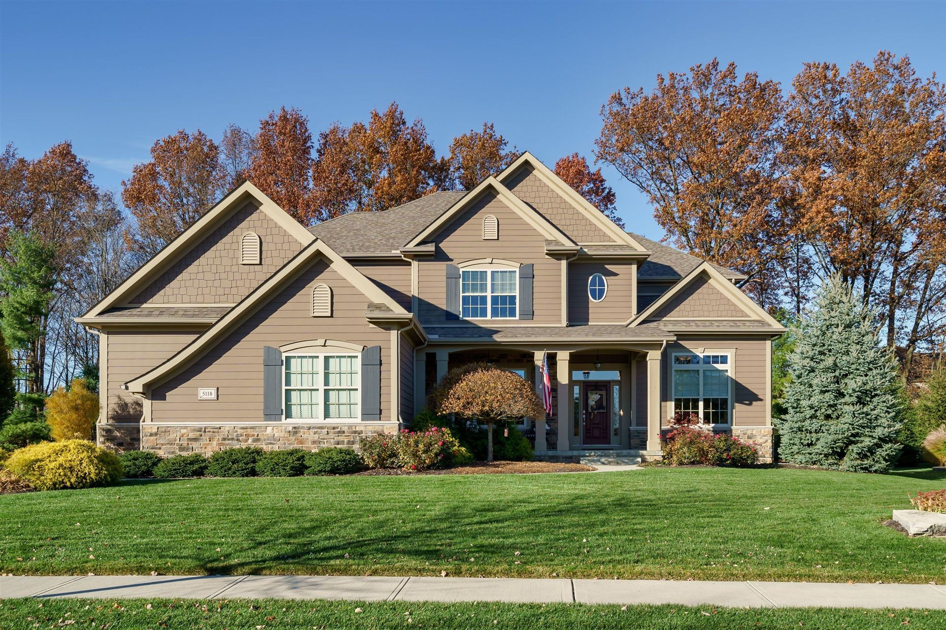 Photo of 5118 Blessing Court, Galena, OH 43021 (MLS # 221000334)