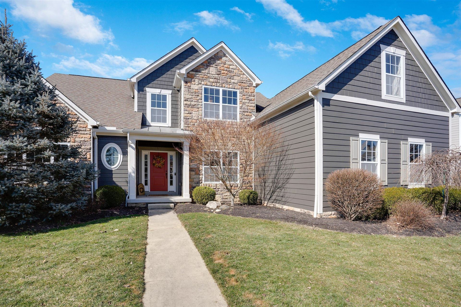 Photo for 7229 Talanth Place, New Albany, OH 43054 (MLS # 221006343)