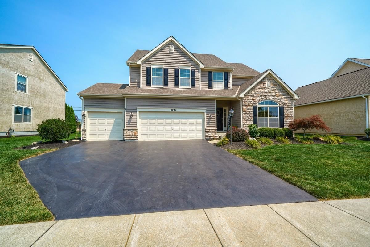 Photo of 3692 Hickory Rock Drive, Powell, OH 43065 (MLS # 221028536)