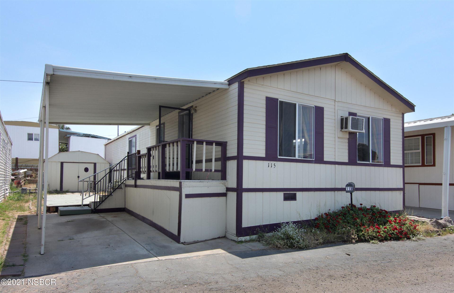 1600 E Clark Avenue #115, Santa Maria, CA 93455 - MLS#: 21001468