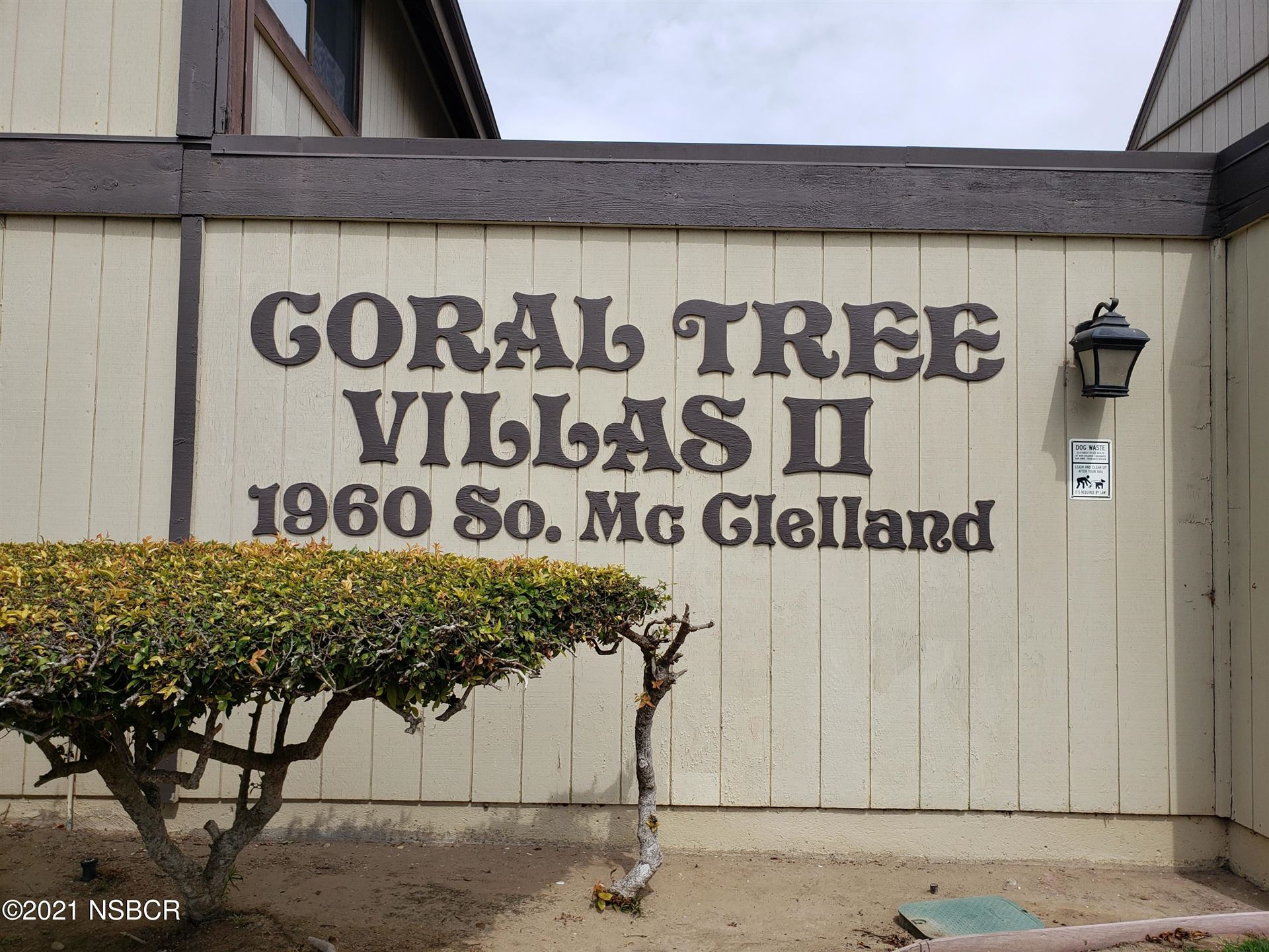 1960 McClelland Street #29, Santa Maria, CA 93454 - MLS#: 21001783
