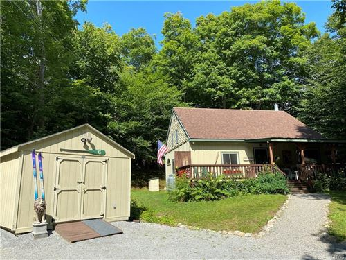 Photo of 119 Morrow Point Road, Old Forge, NY 13420 (MLS # S1290155)