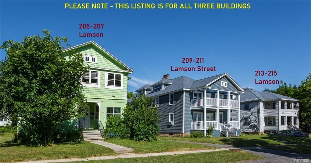 205, 209, 213 Lamson, Syracuse, NY 13206 - #: B1255158